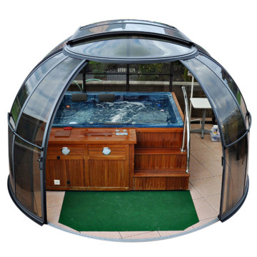 Picture Vinyl Waterproof Cover Pvc Hot Tub Enclosure