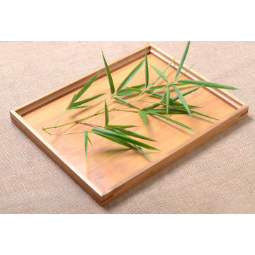 Customized size bamboo tray