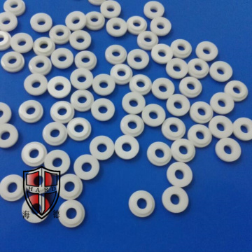 high strong hardness zirconia ceramic coil eyelets loops