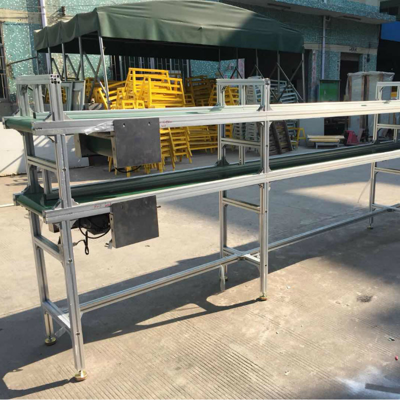 double layer belt conveyor