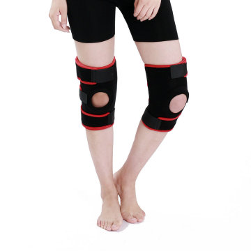 Custom Open Patella Neoprene Adjustable Knee Support Brace