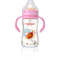 10oz Infant Feeding Glass Bottle With Handle