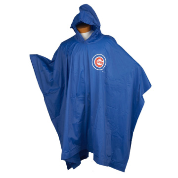 New Fashion PVC Rain Poncho With Logo Printed