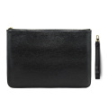 Soft Leather Wristlet Clutch Bag Evening Punch Bag