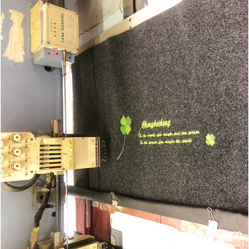 Cheaper polyester doormat and exhibition floor carpet