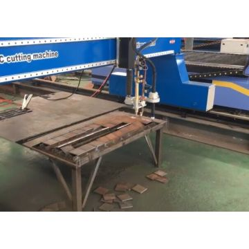 CNC gantry plasma cutter with plasma table gantry