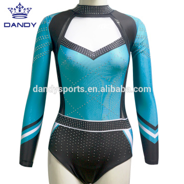 China for China Competition Leotards,Gymnastics Uniforms,Girls Gymnastics Wear Supplier low price custom dance leotards for girls export to Bahamas Exporter
