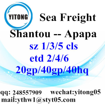 Shantou Sea Freight Shipping Agent to Apapa