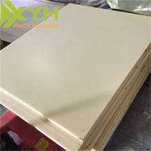 Engineering Plastic Natural Color Pa66 Pa6 Board