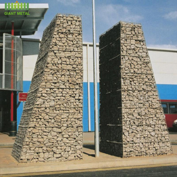 Rust proof galfan coated welded gabion box