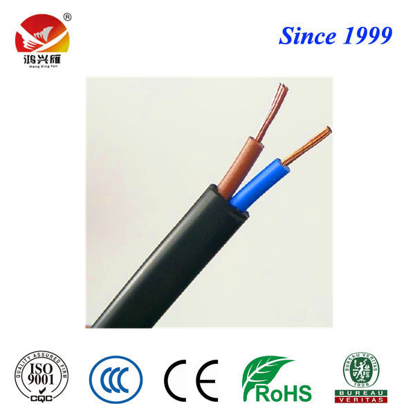 RVVB flat flexible PVC insulated and sheathed electrical cable