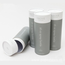 High Quality Cosmetics Paper Round Cylinder Box