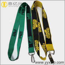 Various Styles Custom ID Card Holder Woven Lanyard