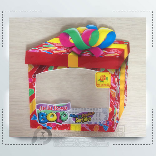 Printing Plastic Shaped Pouch for Candy