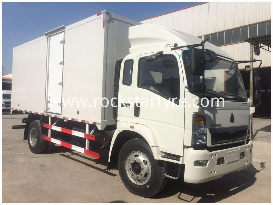 Sinotruk Howo Light Van Truck