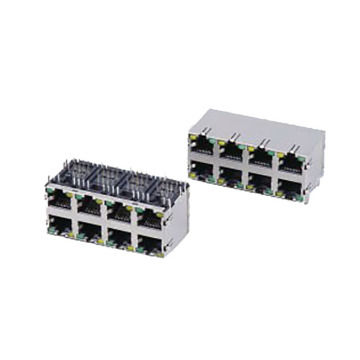 RJ45 ModularJack 1000 base connectors