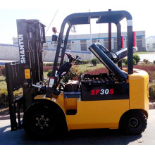 3 ton electric forklift with large battery