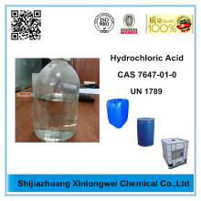 China Factory for Water Treatment Chemicals Factory Price of Hydrochloric Acid 33% export to Russian Federation Importers