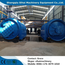 Free installation Waste Tire Processing to Oil Plant