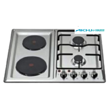 4 Burners Stainless Steel Kitchen Gas Cooktop