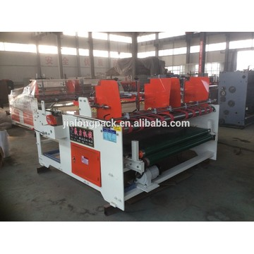 semi automatic sheet press folder gluer pasting machine