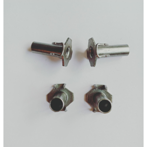 Stainless steel 4 Prongs Hopper Feed Tee Nuts