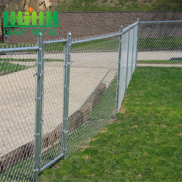 Cheap chain link diamond fence gate panel