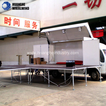 mobile folding stage for sale