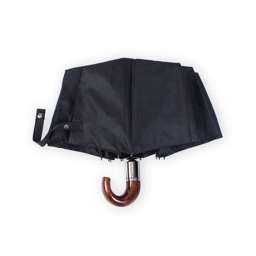 High Quality for Men Style Umbrella Automatic Folding Windproof Men Hook Handle Umbrellas export to China Hong Kong Exporter