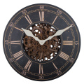 18 Inch Wooden Gear Wall Clock