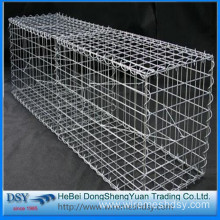low price wire mesh boxes/stone gabion cage wall