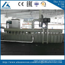 High efficiency AL-2400 SS 2400mm pp non woven fabric making machine with low price