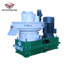 Vertical main shaft pellet machine