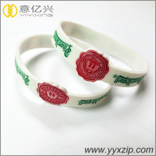 Popular promotional abnormal shaped silicone bracelet