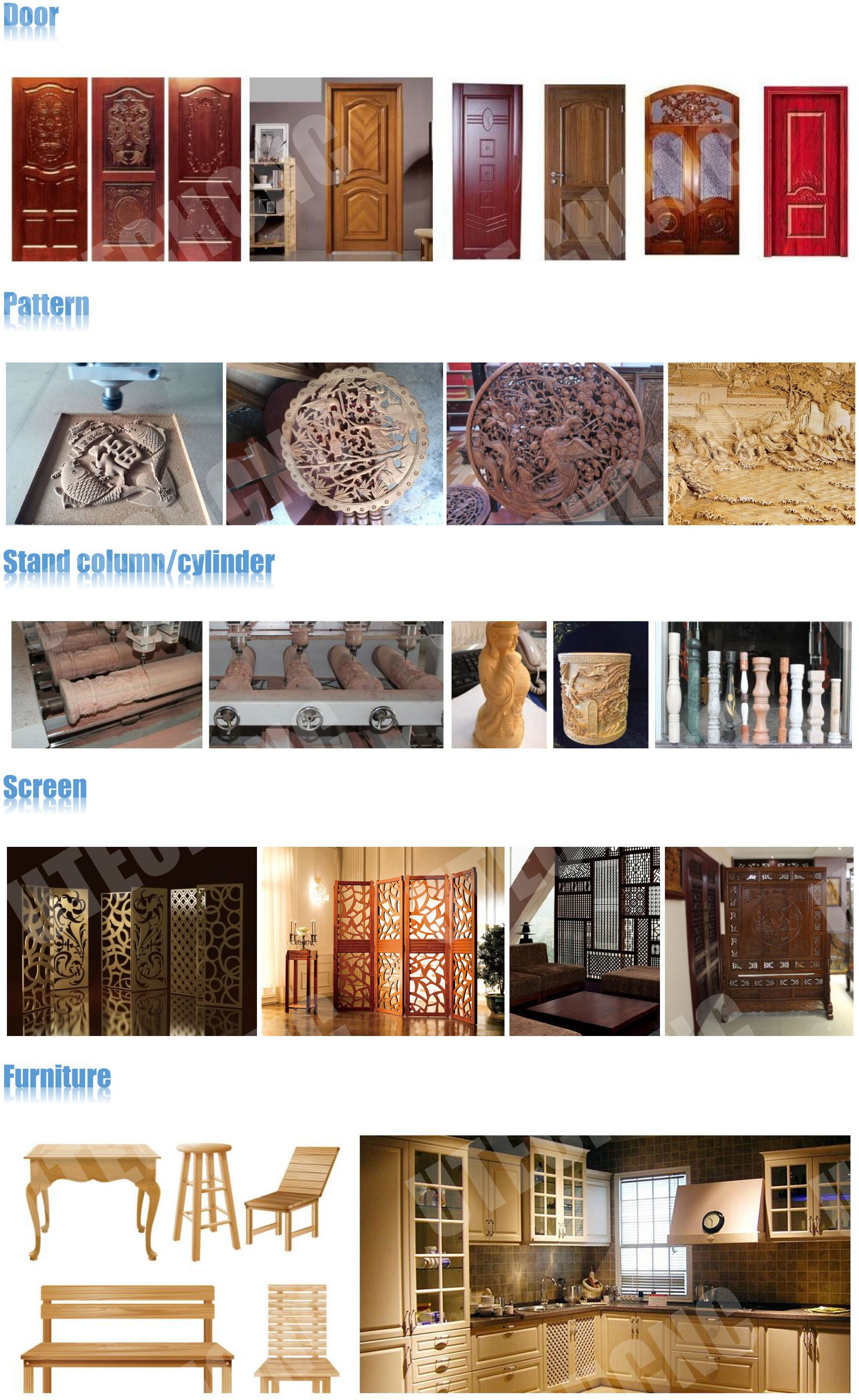 cnc router for processing door cabinet