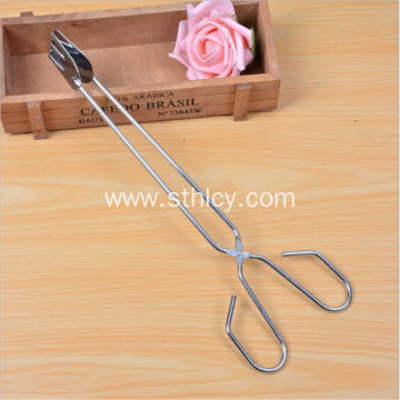 Stainless Steel Thick Food Clip Barbecue Food Pliers