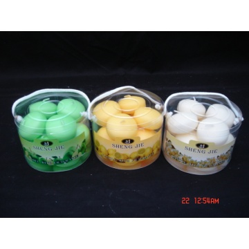 Decorative Paraffin Wax Floating Ball Candle