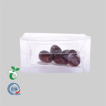 Block Bottom Biodegradable Packaging Plastic Bag for Food