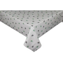 Elegant Tablecloth with Non woven backing Round Elastic