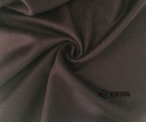 Water-wave 90% Wool And 10%CA Fabric