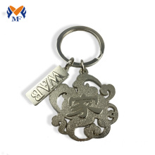 China Factory for Die Cast Keychain Make your person idea keyring with tags supply to Botswana Wholesale