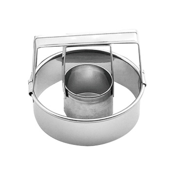 stainless steel donut 2pcs