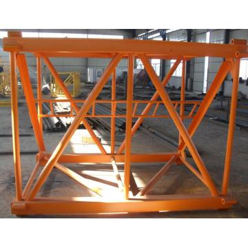 Square Tube Tower Crane Parts Mast Section