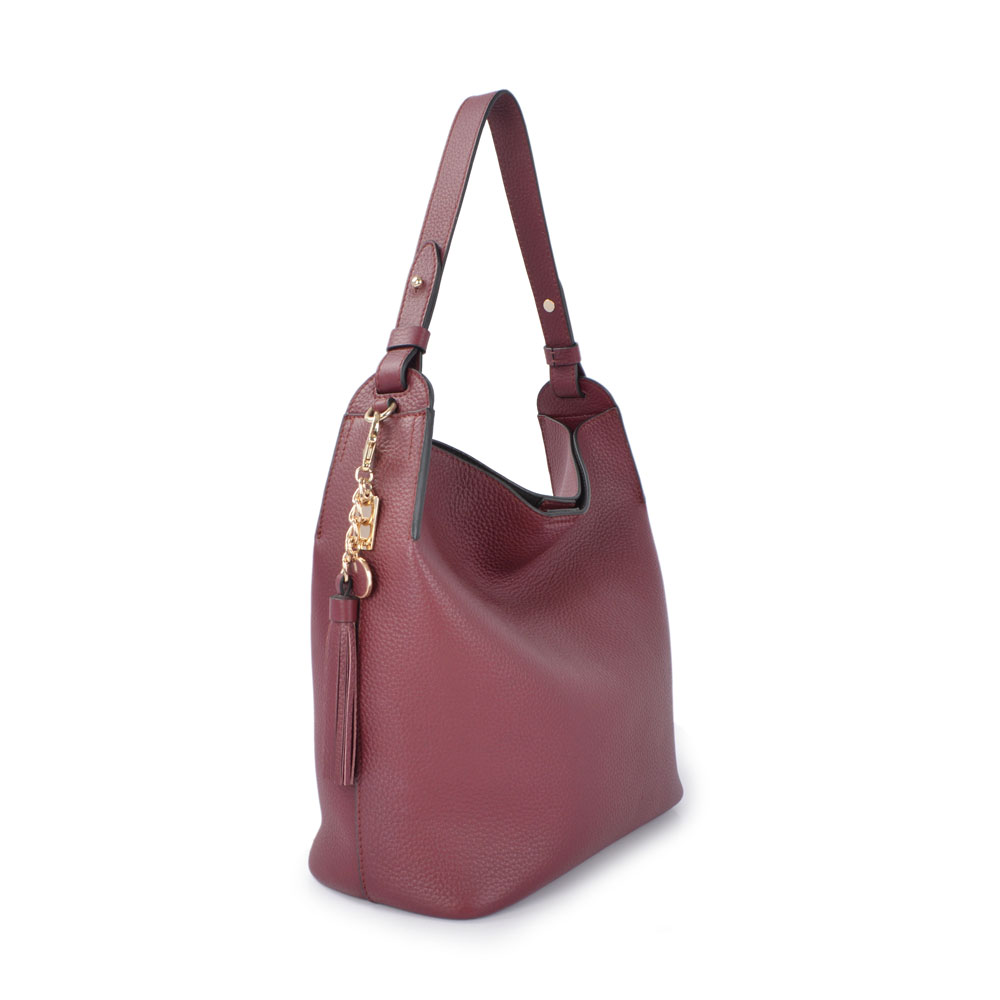 hobo tote handbags stitching colours real leather bag