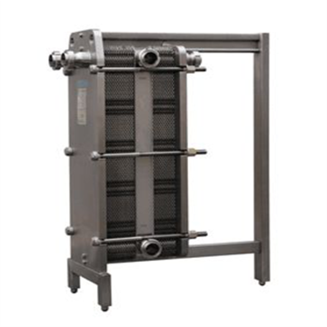 Brewery 2 Section Stainless Steel Plate Heat Exchanger