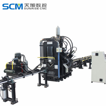 CNC Punching Shearing and Marking Line for Angles