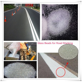 Thermoplastic Road Marking Paint Glass Beads