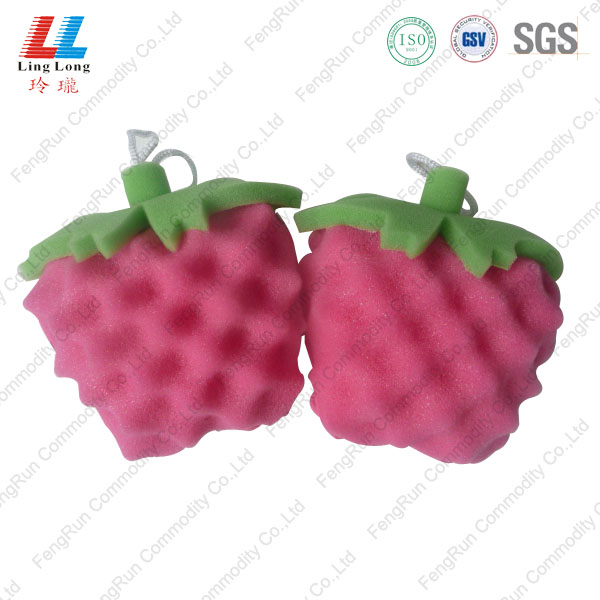 strawberry united sponge