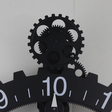 Giant Metal Gear Wall Clock