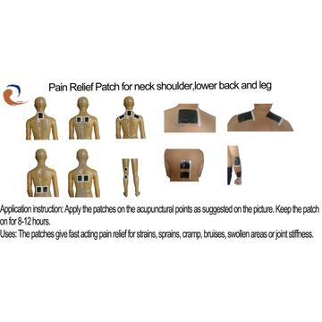 Pain Relief Patch For Swelling Pain of Shoulder